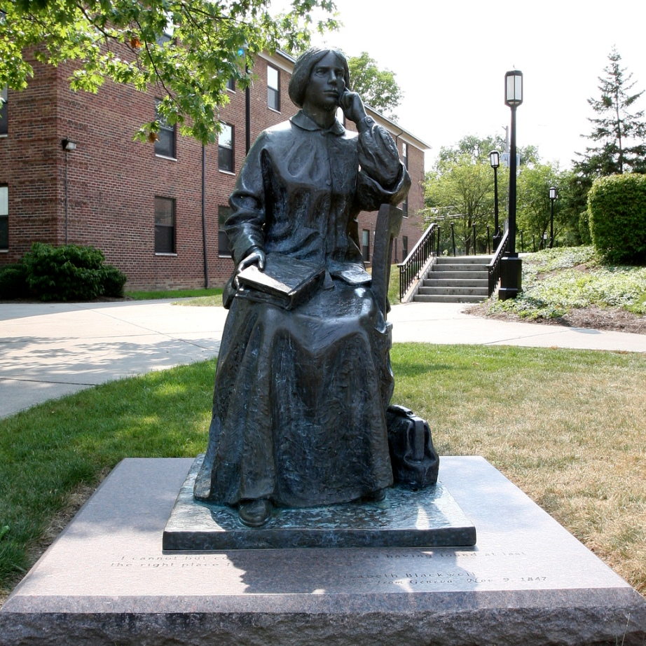 monument to the first female doctor in the U.S.