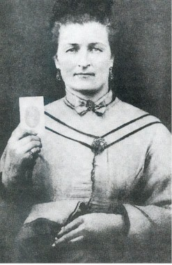 female Confederate soldier Malinda Blalock