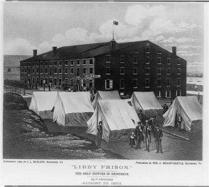 Libby Prison in 1863, Richmond, Virginia