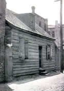 building where Susie King Taylor taught freed slave children to read and write