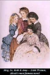 Louisa May Alcott's most successful novel, set in the Civil War era