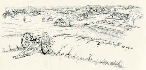 American Civil War scene
