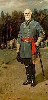 Confederate General Robert E. Lee painting