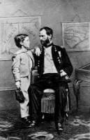 General William Tecumseh Sherman and his son
