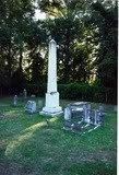 Daniel Harvey Hill's family graves
