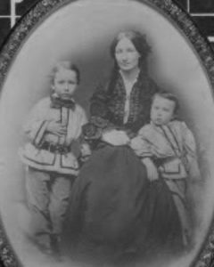 Photograph of wife of General James Longstreet, Maria Louise Garland Longstreet