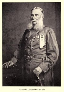 General James Longstreet in uniform