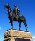 monument to General Meade, commander-in-chief of Union forces at the Battle of Gettysburg