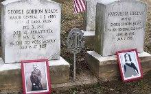 George Meade and Margaretta Meade's gravesite