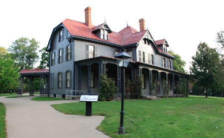 home of President James and Lucretia Garfield