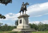 Union general equestrian statue