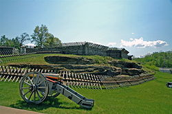 Civil War fort in Pennsylvania