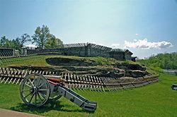 Civil War fort in Pennsylvania