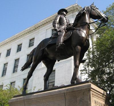 General Joseph Hooker statue