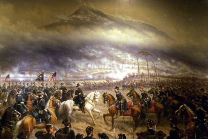 Civil War battle in Tennessee