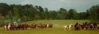 Civil War battle in Louisiana