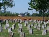 cemetery where Sarah Rosetta Wakeman is buried