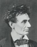 photograph of Abraham Lincoln in 1857