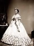 photo of First Lady Mary Todd Lincoln during the Civil War