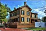the Lincoln home in Springfield, Illinois, 1844 through 1861
