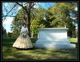 grave of American statesman and member of President Lincoln's cabinet during the Civil War