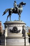 bronze equestrian statue in Washington, DC