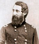 photo of a Civil War general and commander of the Buffalo Soldiers