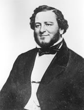 photo of Confederate Secretary of War Judah P. Benjamin