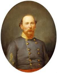 portrait of General Ben Hardin Helm, killed at the Battle of Chickamauga