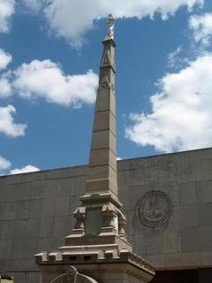 photo of the Confederate monument in Jackson, Mississippi