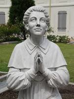 statue of Catholic sister Henriette Delille of New Orleans