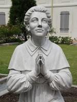 statue of Catholic sister Henriette Delille of New Orleans