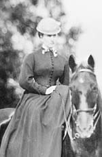 Civil War nurse and portrait photographer Clover Adams