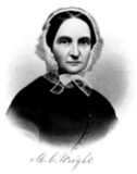 portrait of co-founder of the Seneca Falls Convention, Martha Coffin Wright