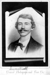 William Clarke Quantrill, Confederate raider and guerrilla fighter during the Civil War