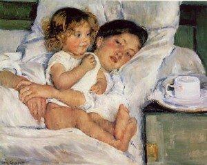 painting by Mary Cassatt