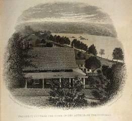 home of novelist E.D.E.N. Southworth on the Potomac River
