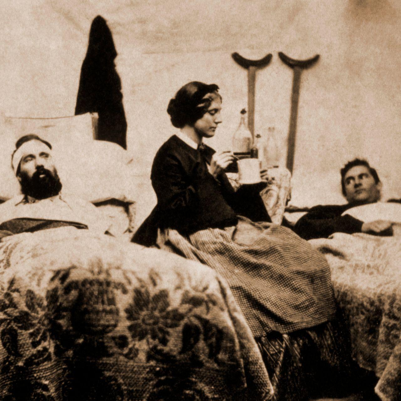 Clara Barton in the Civil War