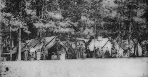 Gettysburg nurses at Camp Letterman