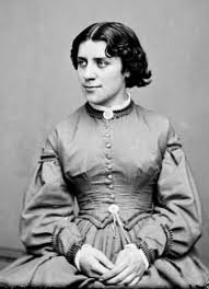 orator for the women's rights movement Anna Dickinson