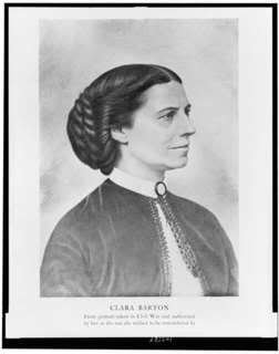 Clara Barton, Civil War nurse