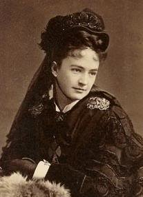 Libby Custer, wife of General George Armstrong Custer