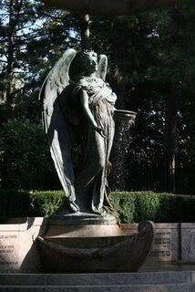 monument at grave of ruth anne dodge