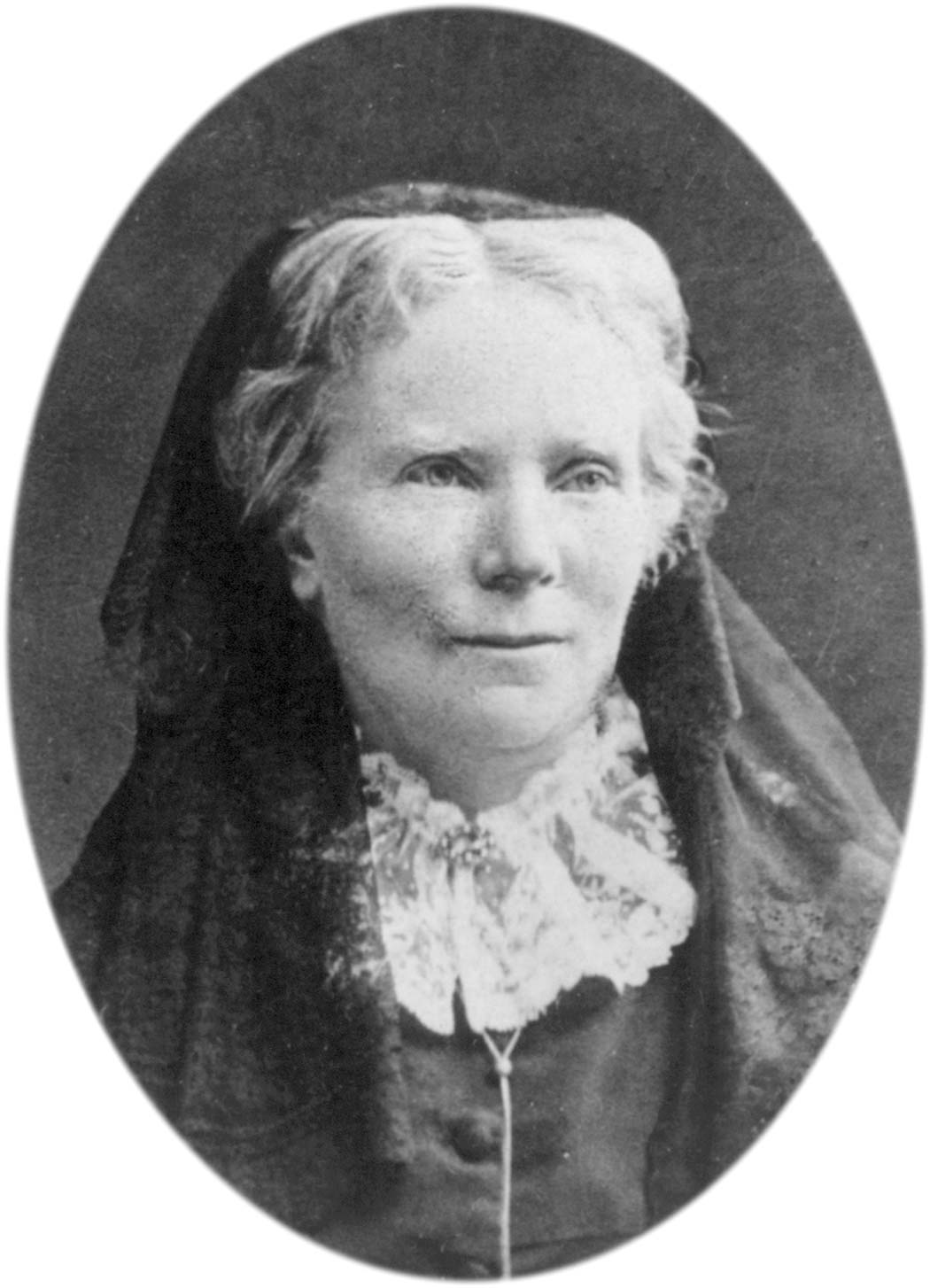 portrait of Elizabeth Blackwell, first American woman doctor
