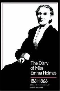 Civil War diary of a South Carolina woman