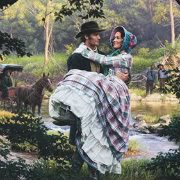 painting of Mary Ann Montgomery Forrest and Nathan Bedforest