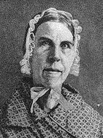 abolitionist and women's rights activist Sarah Grimke