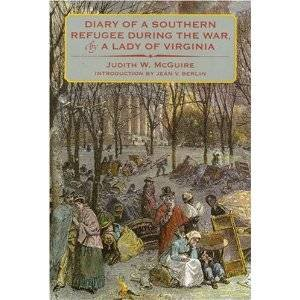 book featuring Judith McGuire's Civil War diary