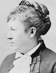 Julia Grant, wife of General Ulysses. S. Grant