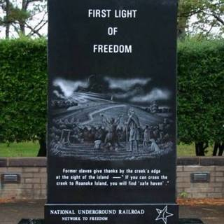 monument to the Roanoke Island Freedmen's Colony